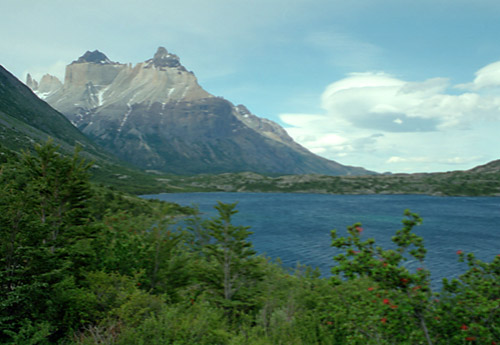 Cuernos del Paine and clouds